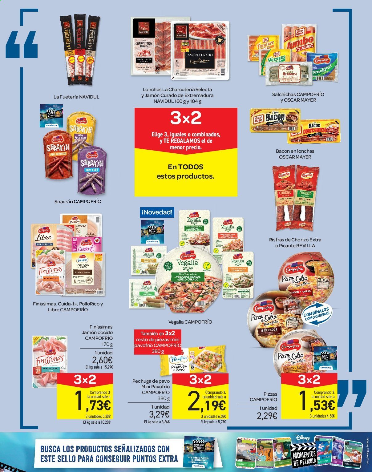 Folleto vigente Carrefour  - 21.6.2019 - 10.7.2019. Página 27.