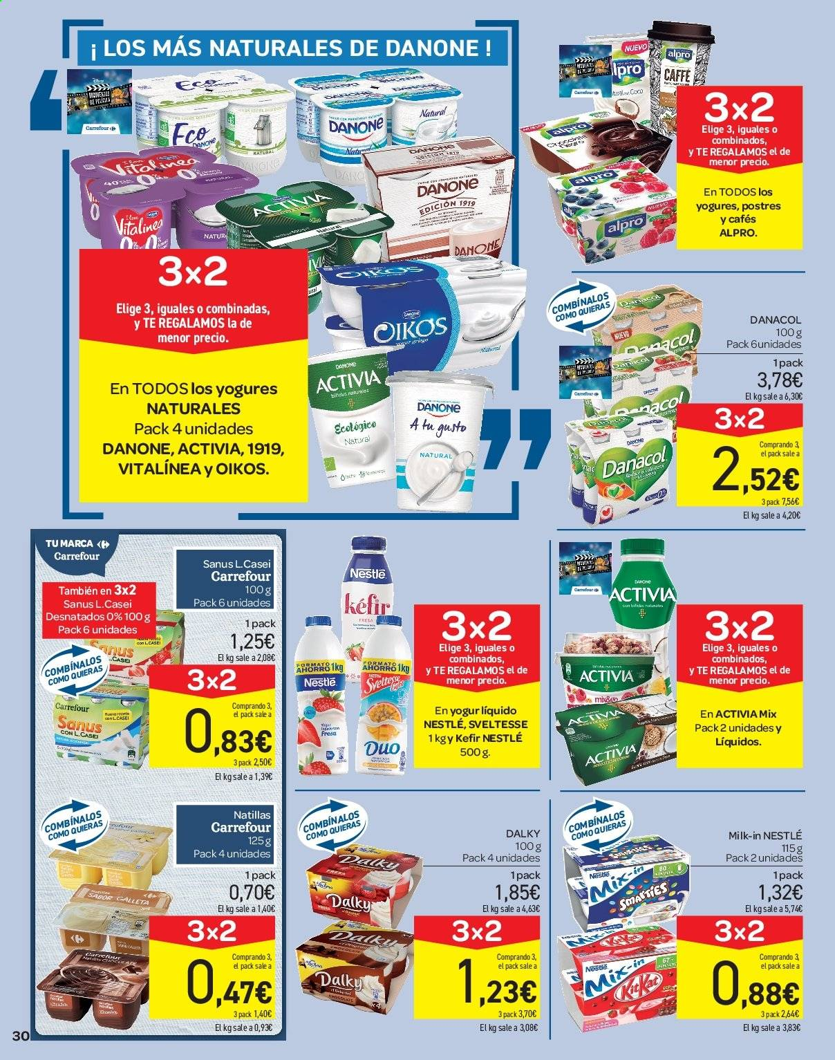 Folleto vigente Carrefour  - 21.6.2019 - 10.7.2019. Página 30.