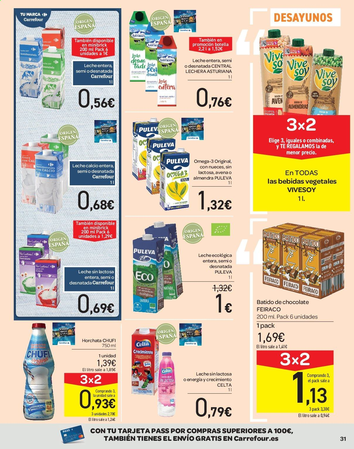 Folleto vigente Carrefour  - 21.6.2019 - 10.7.2019. Página 31.