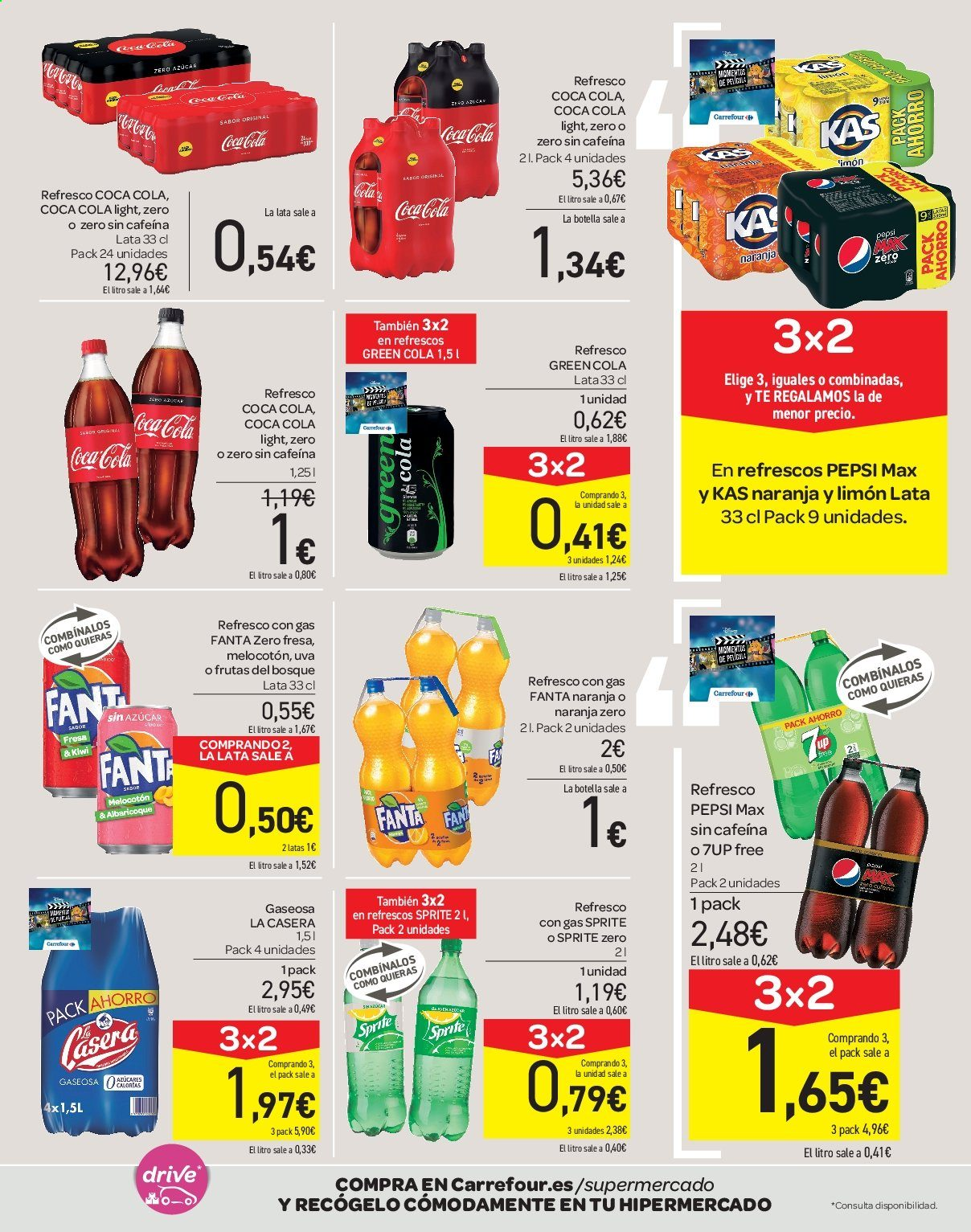 Folleto vigente Carrefour  - 21.6.2019 - 10.7.2019. Página 39.