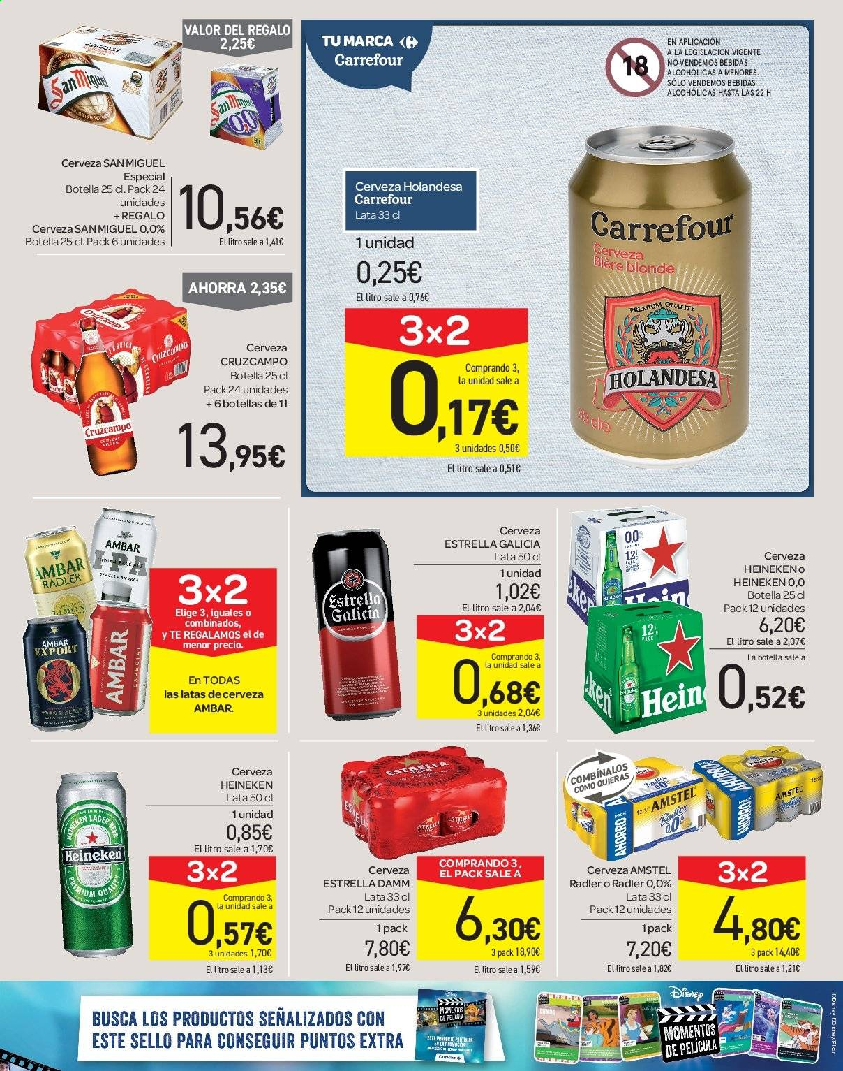 Folleto vigente Carrefour  - 21.6.2019 - 10.7.2019. Página 43.