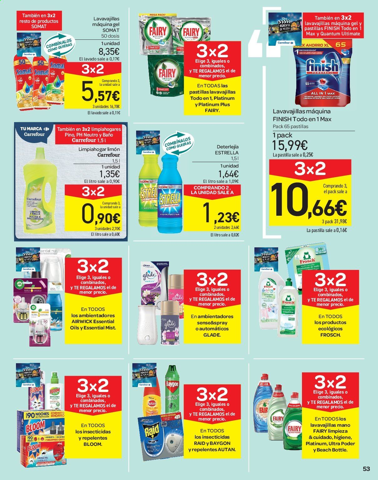 Folleto vigente Carrefour  - 21.6.2019 - 10.7.2019. Página 53.