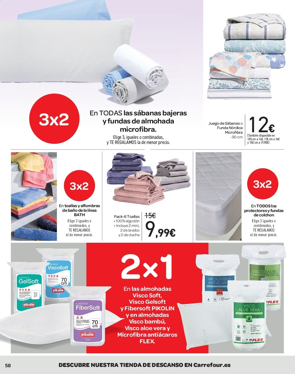 Folleto vigente Carrefour  - 21.6.2019 - 10.7.2019. Página 58.