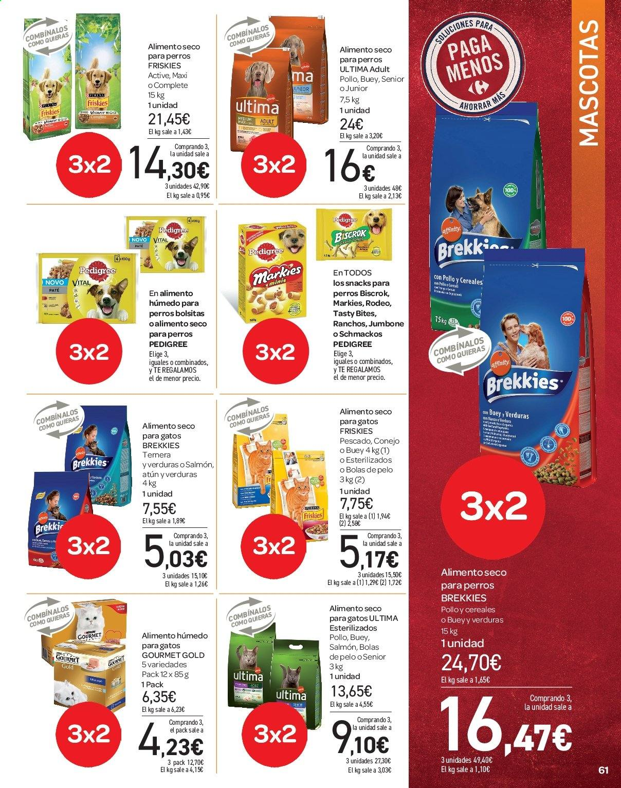 Folleto vigente Carrefour  - 21.6.2019 - 10.7.2019. Página 61.