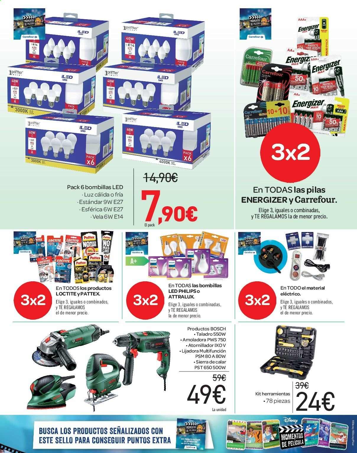 Folleto vigente Carrefour  - 21.6.2019 - 10.7.2019. Página 63.