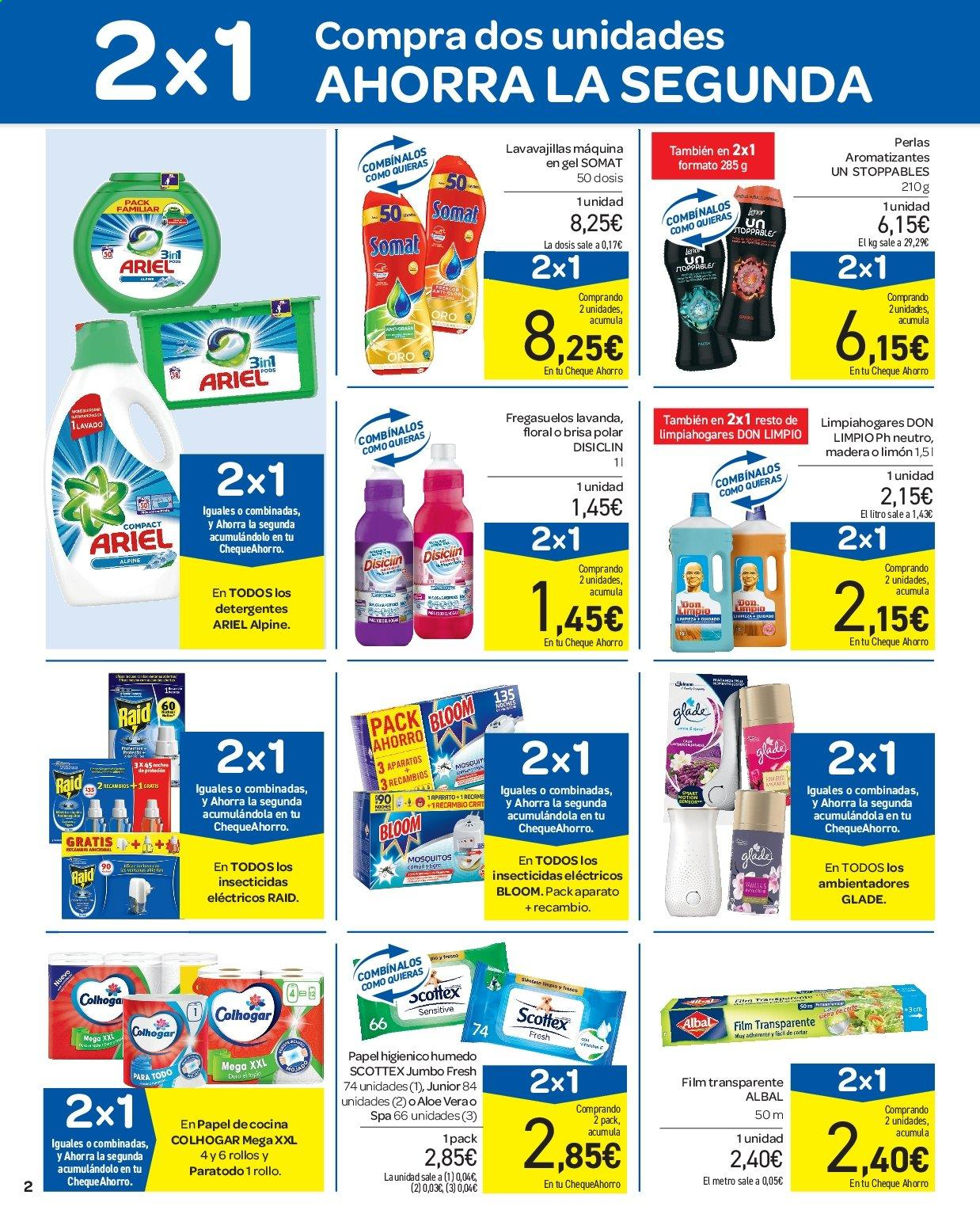 Folleto vigente Carrefour  - 11.7.2019 - 17.7.2019. Página 2.