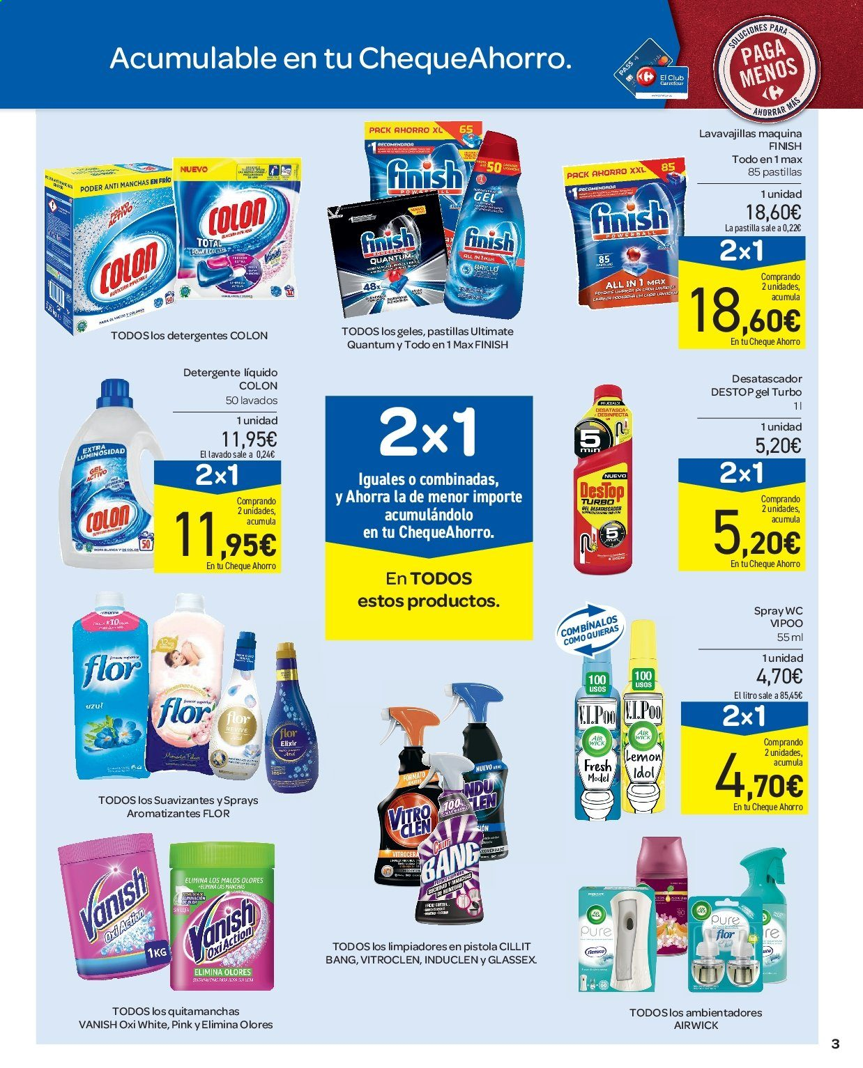 Folleto vigente Carrefour  - 11.7.2019 - 17.7.2019. Página 3.