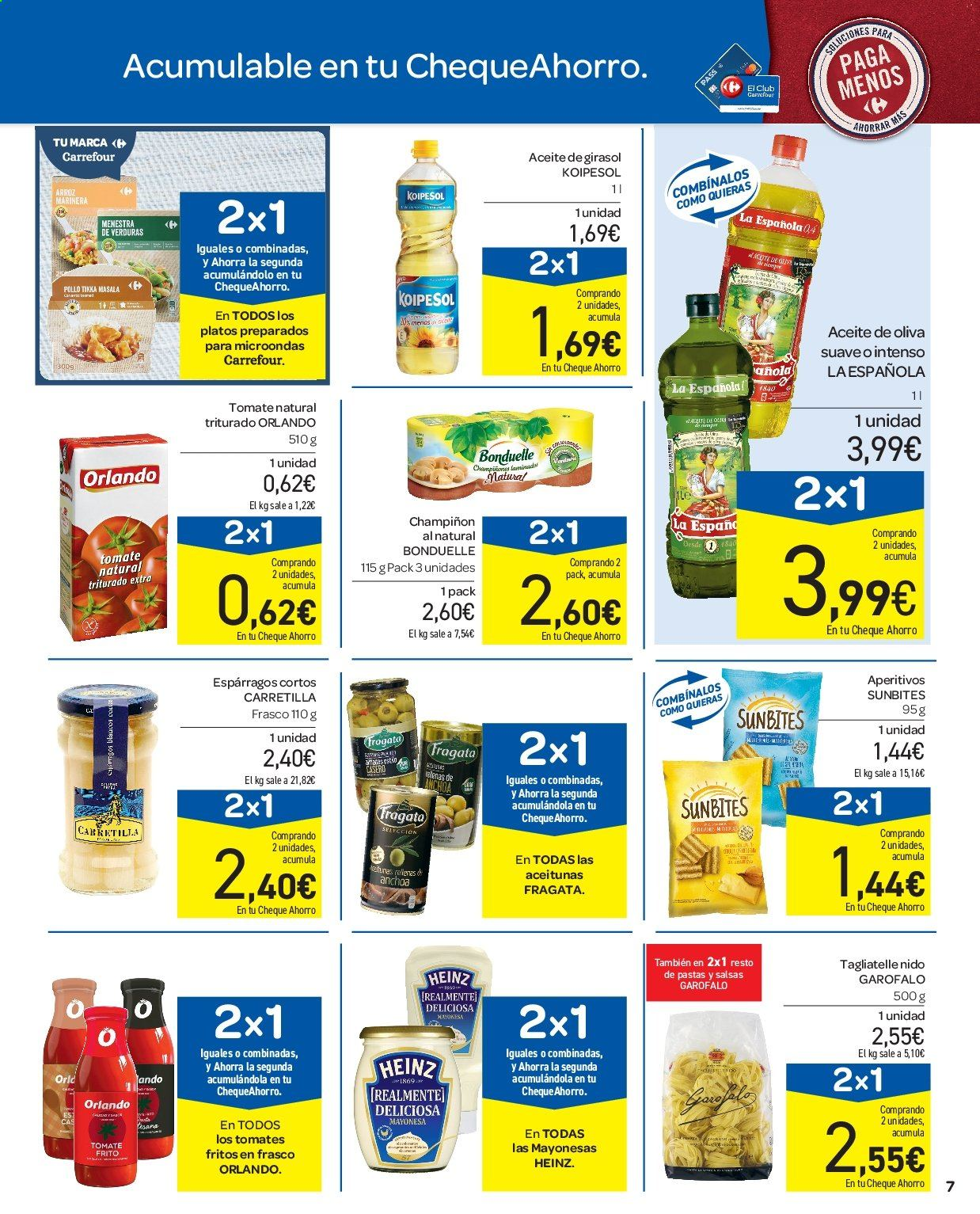 Folleto vigente Carrefour  - 11.7.2019 - 17.7.2019. Página 7.