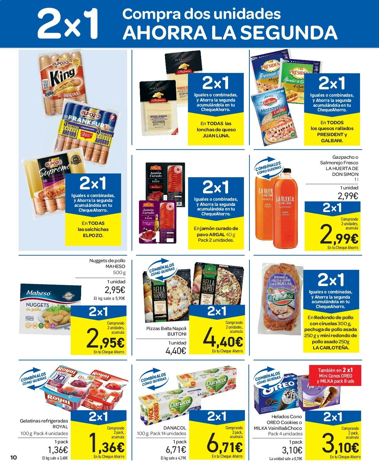 Folleto vigente Carrefour  - 11.7.2019 - 17.7.2019. Página 10.