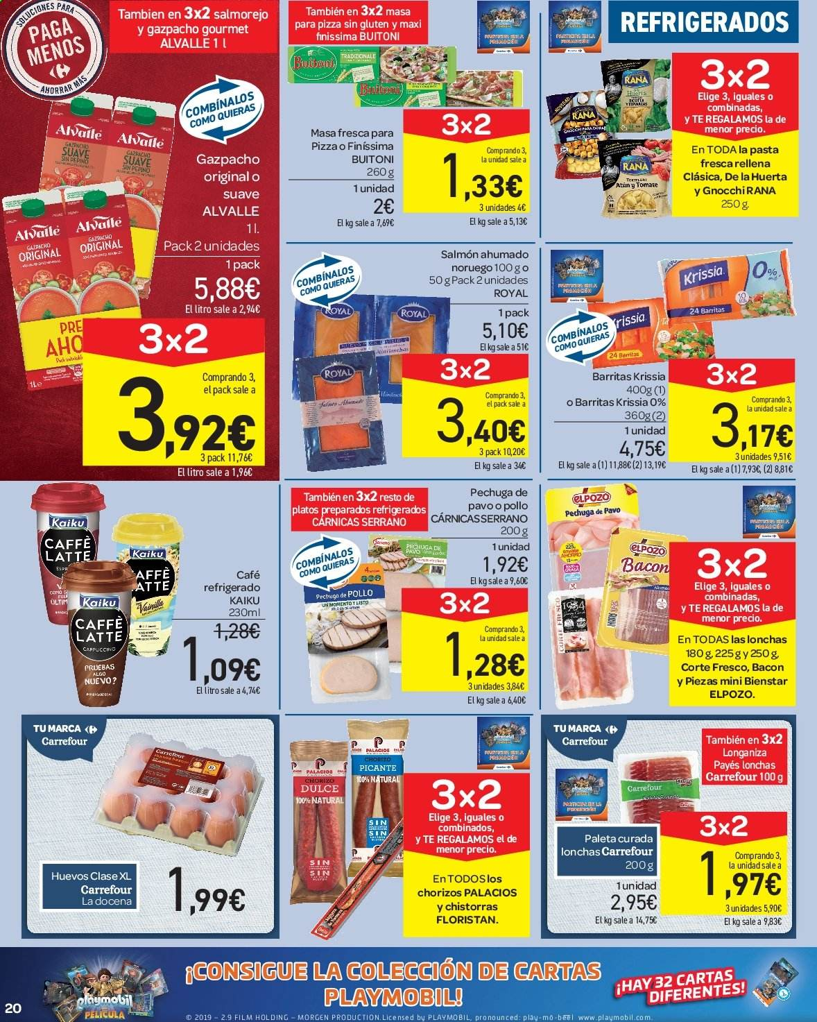 Folleto vigente Carrefour  - 23.8.2019 - 10.9.2019. Página 20.