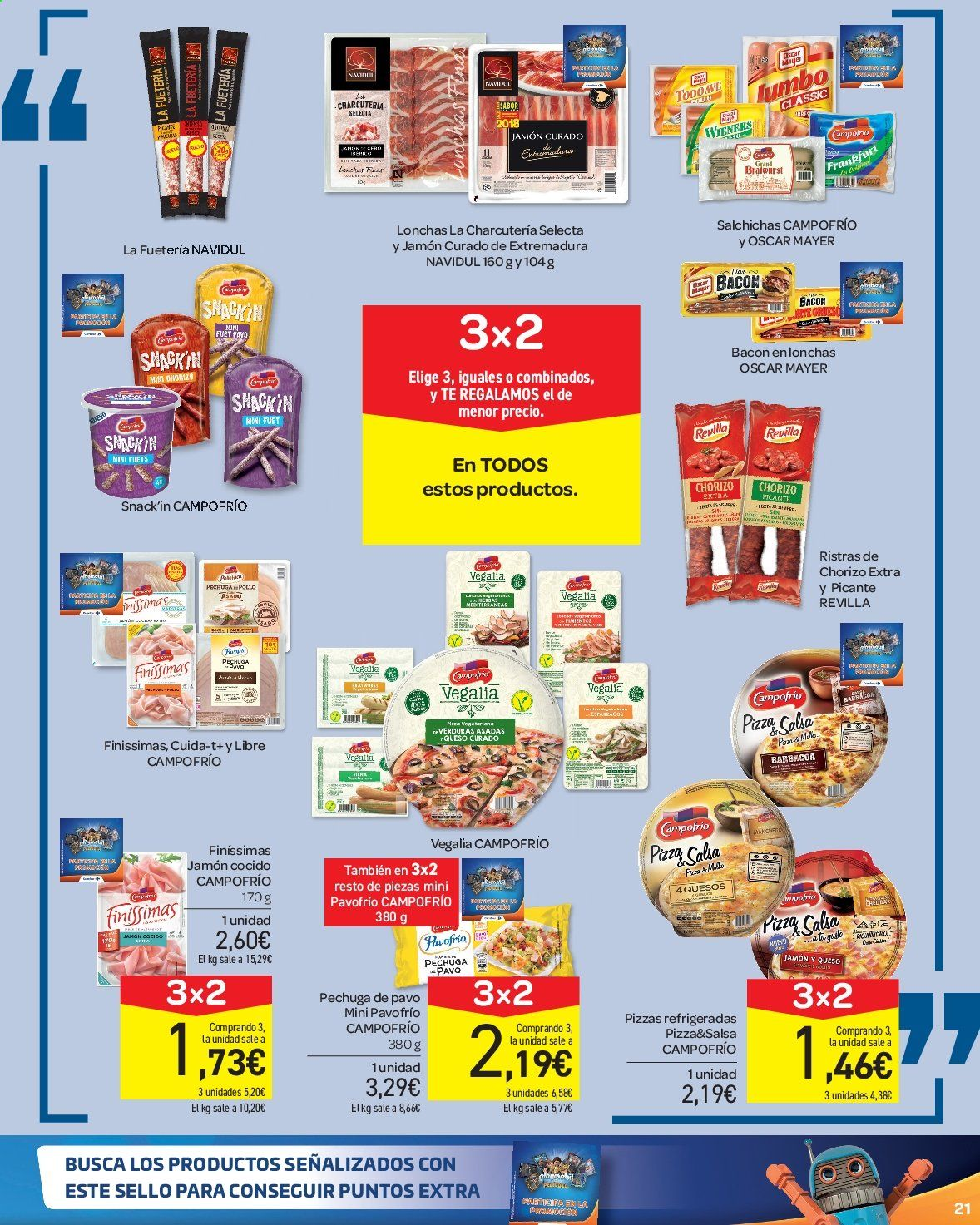 Folleto vigente Carrefour  - 23.8.2019 - 10.9.2019. Página 21.