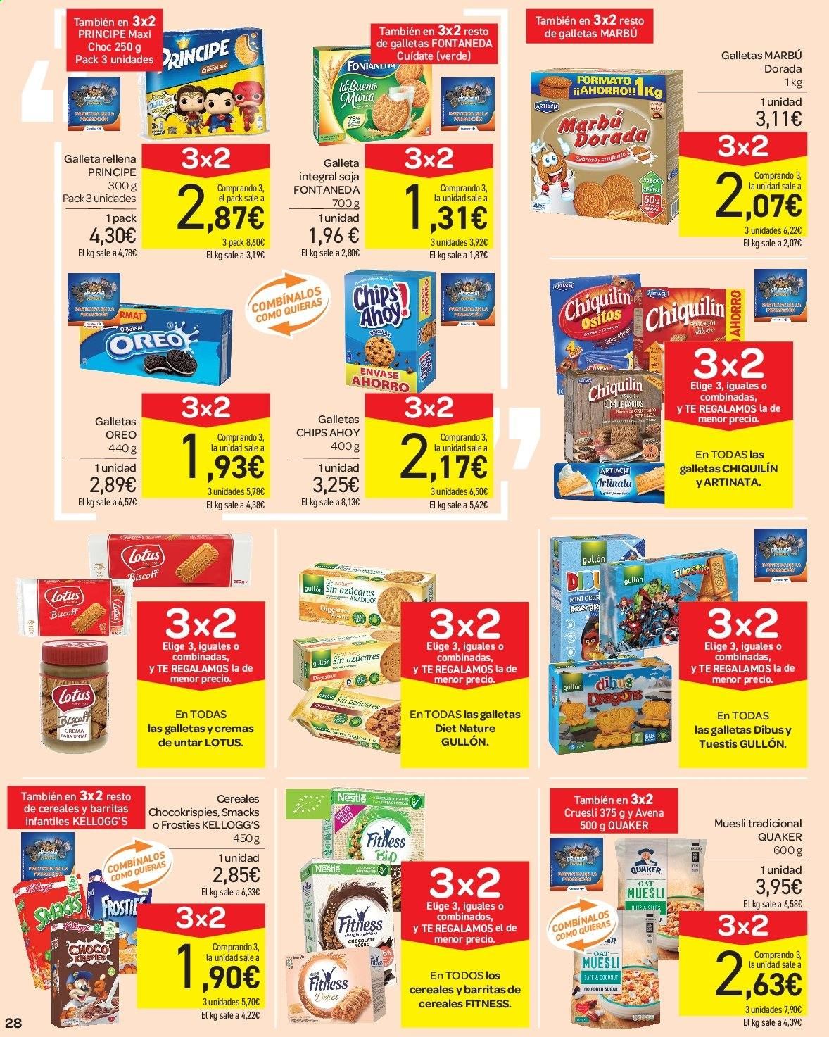 Folleto vigente Carrefour  - 23.8.2019 - 10.9.2019. Página 28.