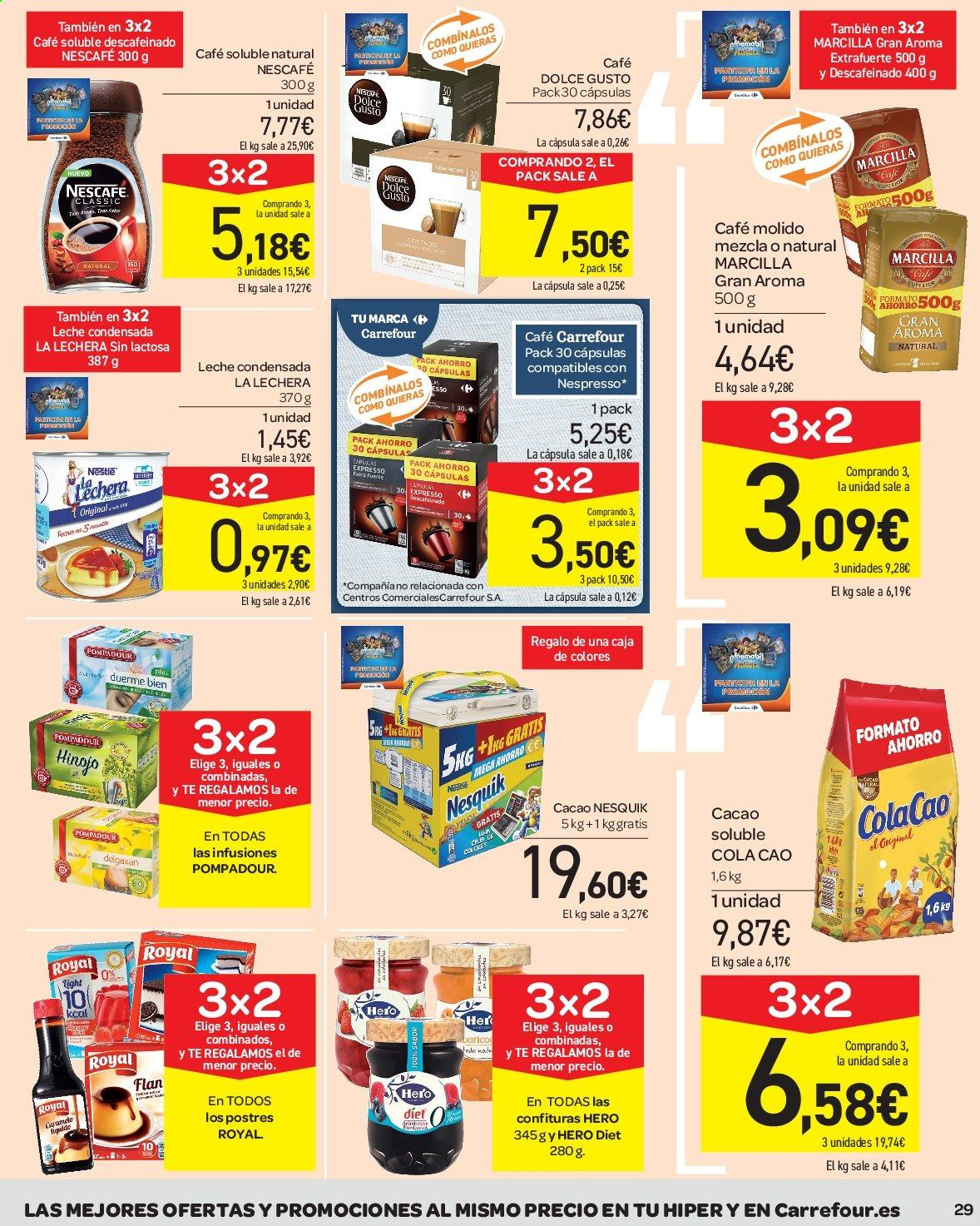 Folleto vigente Carrefour  - 23.8.2019 - 10.9.2019. Página 29.