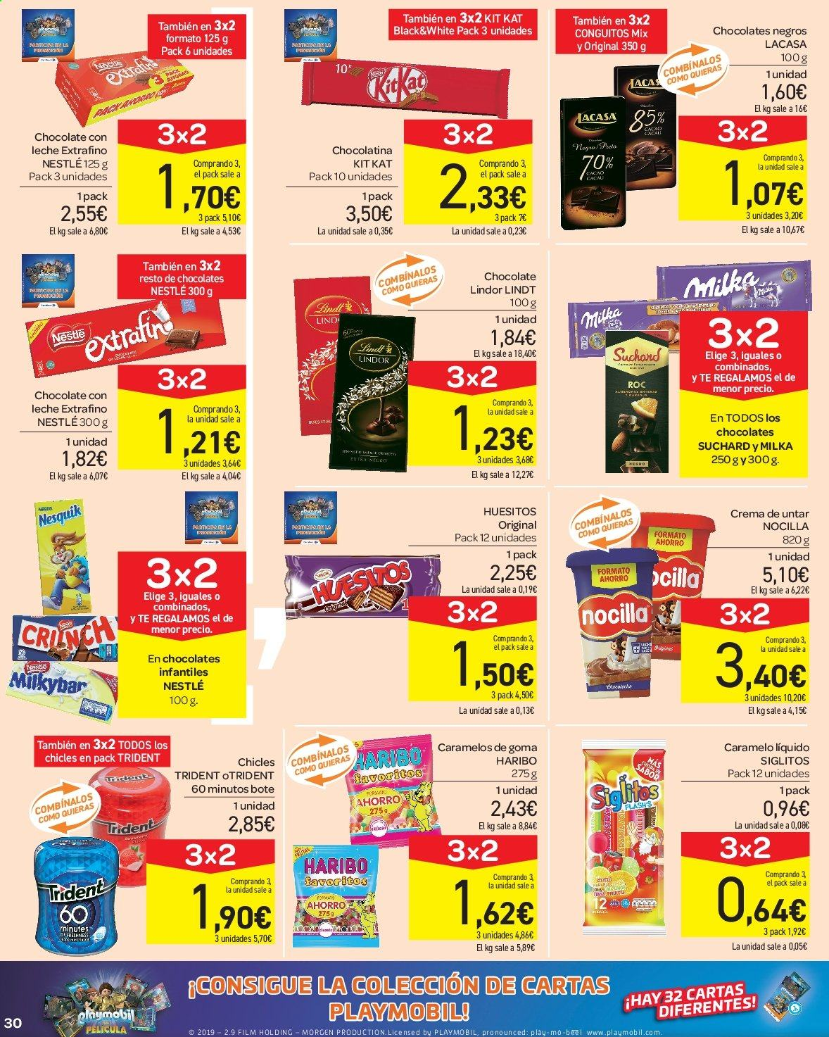 Folleto vigente Carrefour  - 23.8.2019 - 10.9.2019. Página 30.