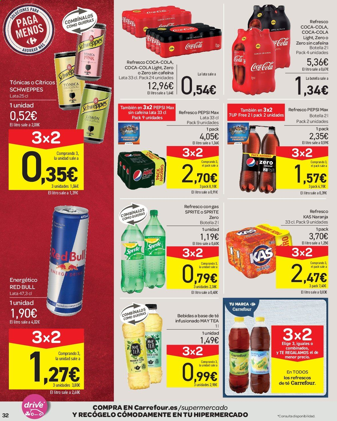 Folleto vigente Carrefour  - 23.8.2019 - 10.9.2019. Página 32.