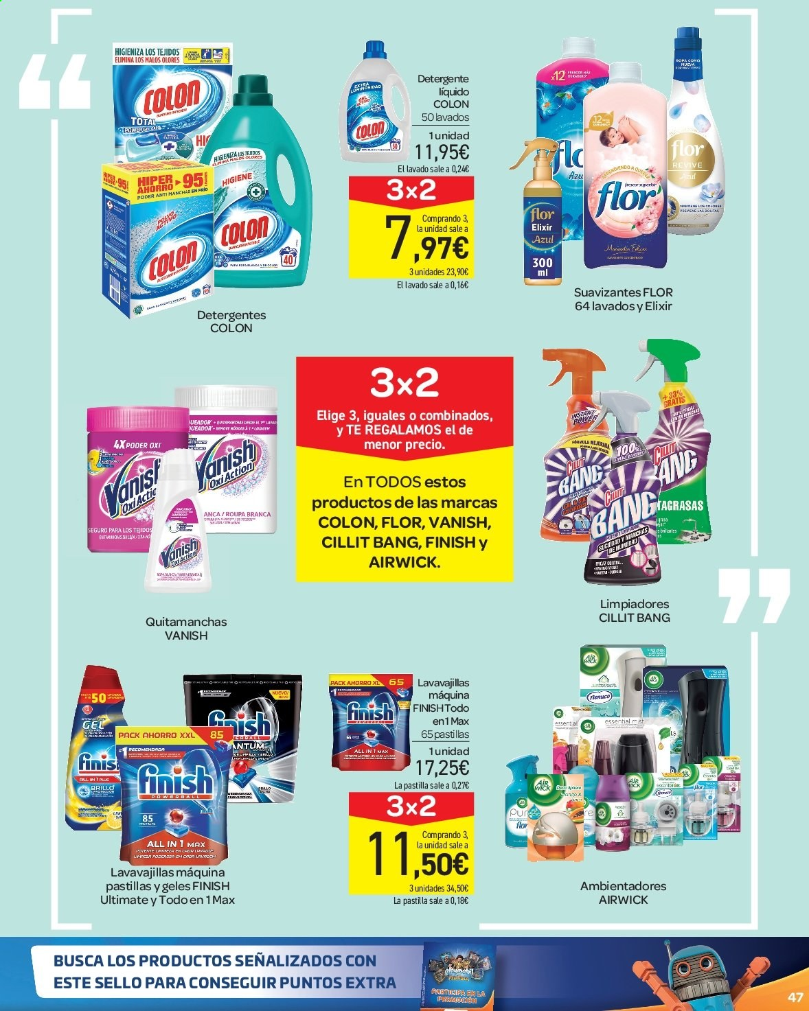 Folleto vigente Carrefour  - 23.8.2019 - 10.9.2019. Página 47.