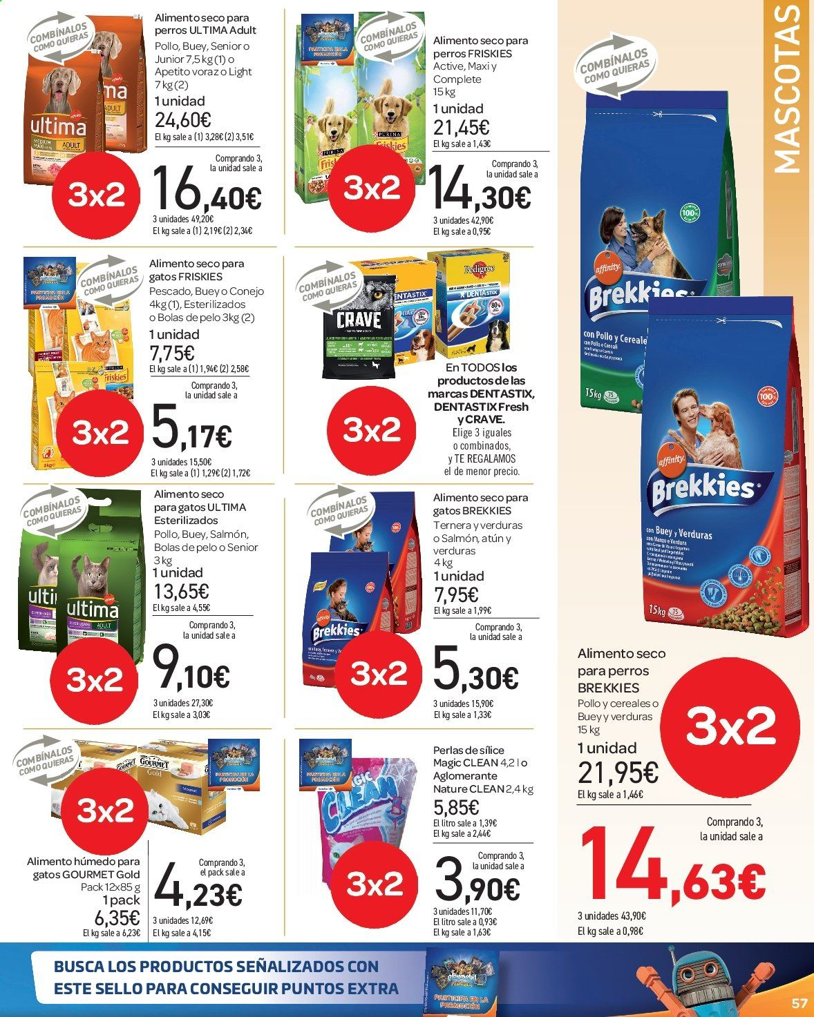 Folleto vigente Carrefour  - 23.8.2019 - 10.9.2019. Página 57.