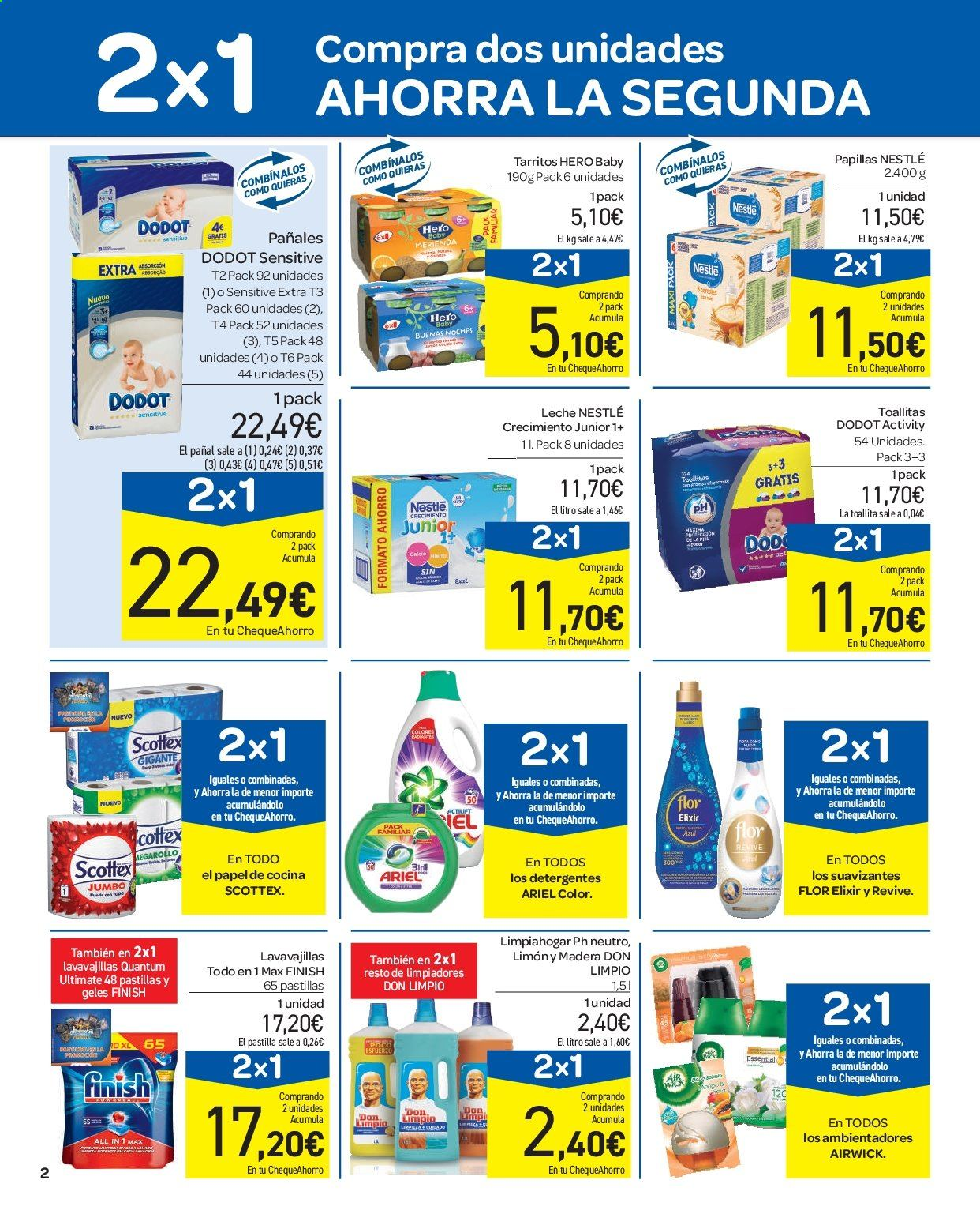 Folleto vigente Carrefour  - 11.9.2019 - 16.9.2019. Página 2.