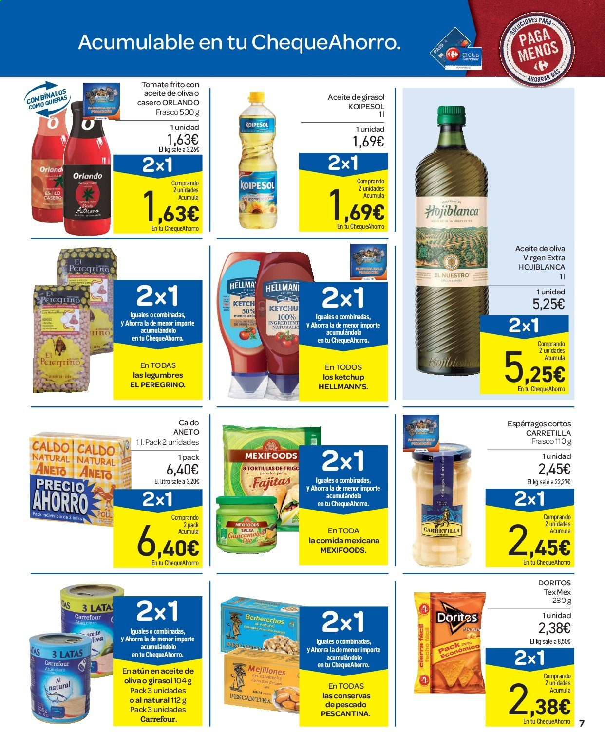 Folleto vigente Carrefour  - 11.9.2019 - 16.9.2019. Página 7.