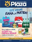 Folleto actual Supermercados Plaza - 16.7.2020 - 2.8.2020.