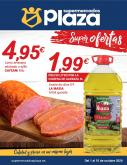 Folleto actual Supermercados Plaza - 1.10.2020 - 15.10.2020.