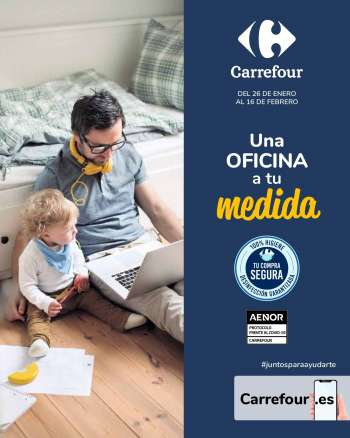 Folleto actual Carrefour - 26.1.2021 - 16.2.2021.