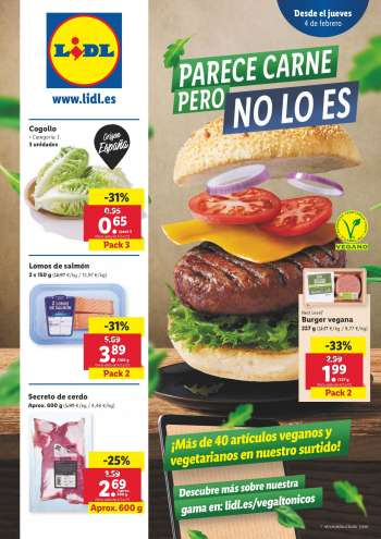 Folleto actual Lidl - 4.2.2021 - 10.2.2021.