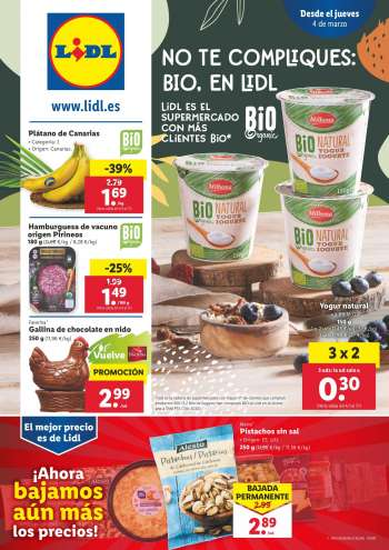 Folleto actual Lidl - 4.3.2021 - 10.3.2021.
