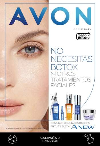 Folleto actual Avon - 1.3.2021 - 31.3.2021.