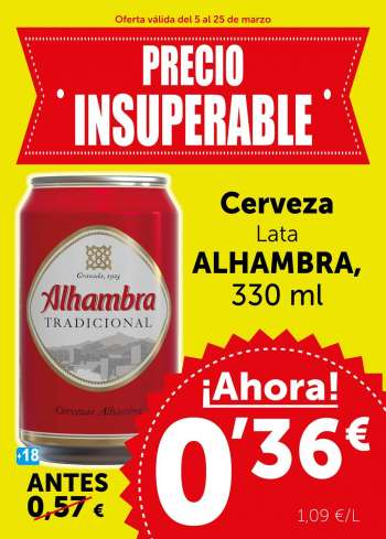 Folleto actual Supermercados masymas - 5.3.2021 - 25.3.2021.