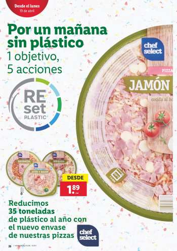 Folleto actual Lidl - 15.4.2021 - 21.4.2021.