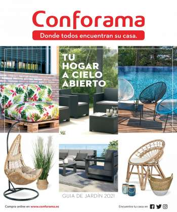 Folleto actual Conforama - 9.4.2021 - 31.8.2021.