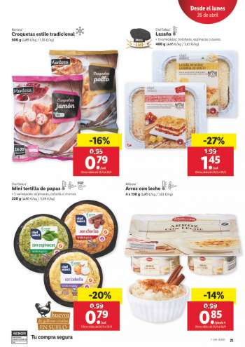 Folleto actual Lidl - 22.4.2021 - 28.4.2021.