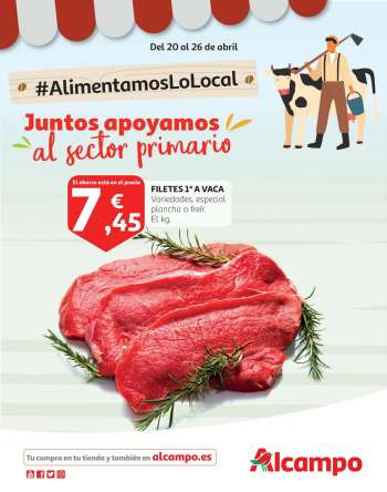 Folleto actual Alcampo - 20.4.2021 - 26.4.2021.