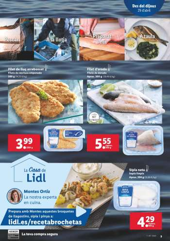 Folleto actual Lidl - 29.4.2021 - 5.5.2021.