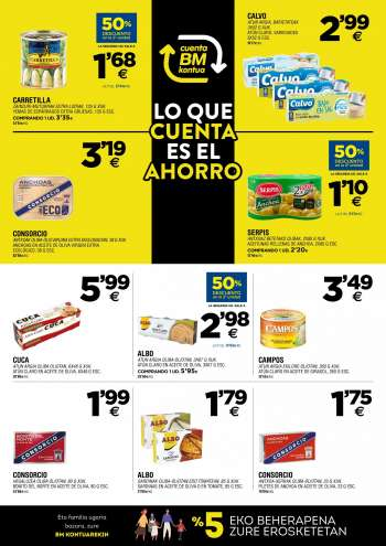 Folleto actual BM Supermercados - 28.4.2021 - 18.5.2021.