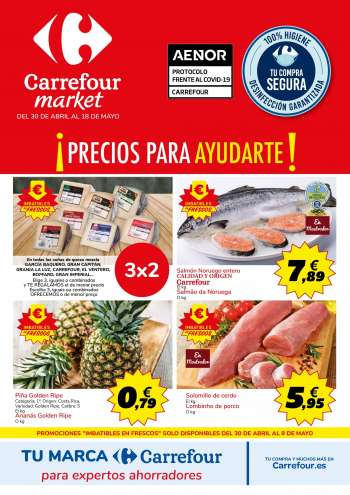 Folleto actual Carrefour - 30.4.2021 - 18.5.2021.