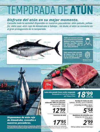Folleto actual Supermercados MAS - 30.4.2021 - 27.5.2021.