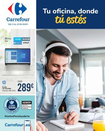 Folleto actual Carrefour - 5.5.2021 - 25.5.2021.