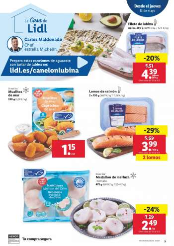 Folleto actual Lidl - 13.5.2021 - 19.5.2021.