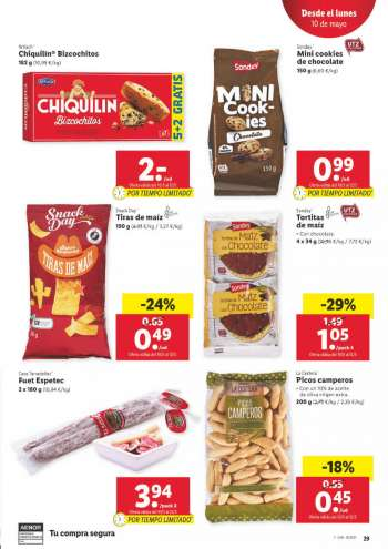 Folleto actual Lidl - 6.5.2021 - 12.5.2021.