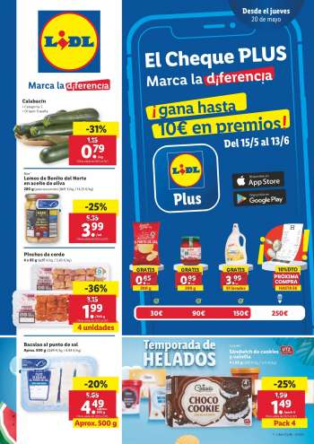 Folleto actual Lidl - 20.5.2021 - 26.5.2021.
