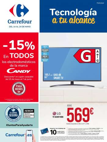 Folleto actual Carrefour - 14.5.2021 - 24.5.2021.