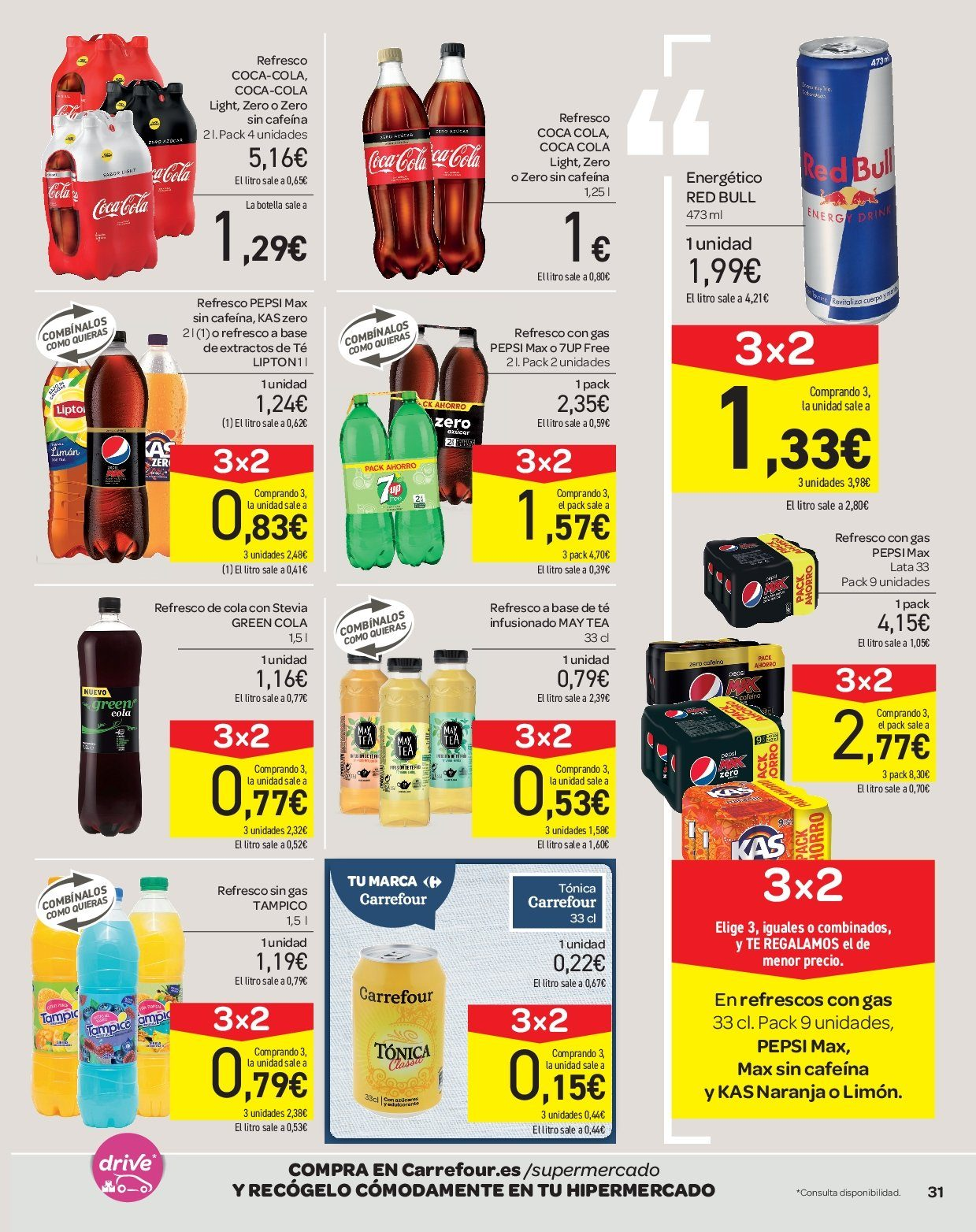 Folleto actual Carrefour - 2.1.2019 - 16.1.2019 - Ventas - refresco 43f931fbcca2