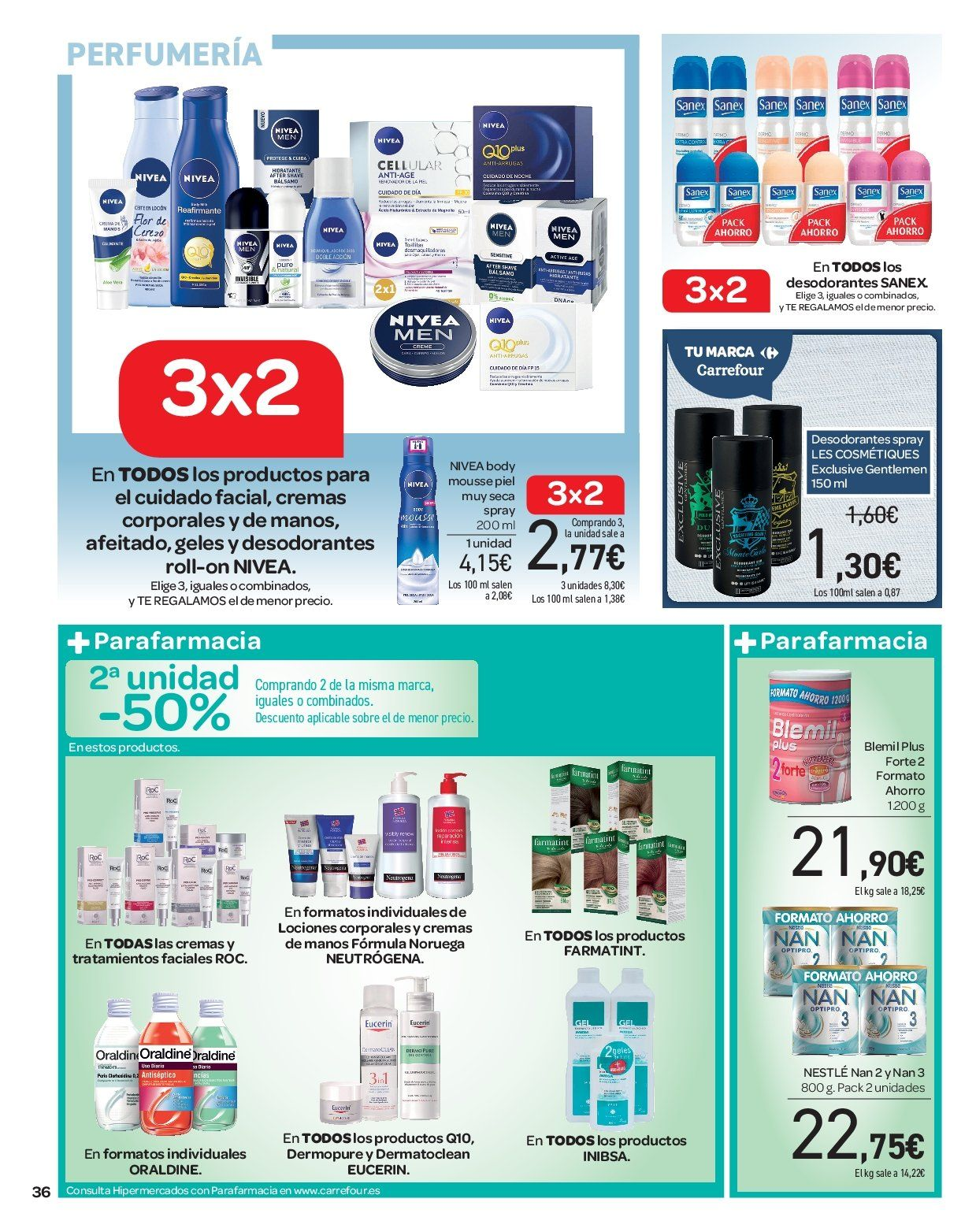 Folleto actual Carrefour - 2.1.2019 - 16.1.2019 - Ventas - eucerin 7281e5d83565