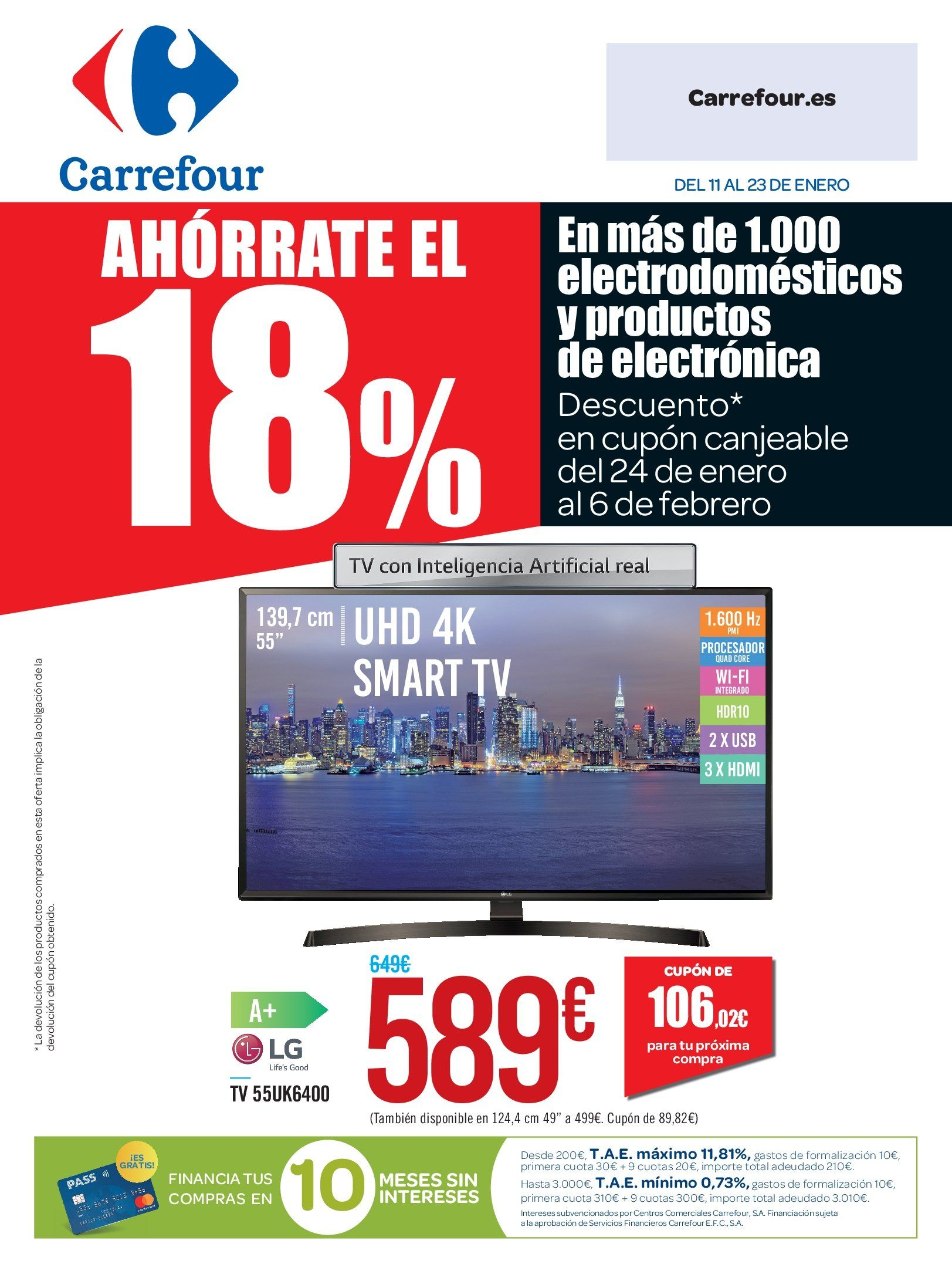 Folleto actual Carrefour - 11.1.2019 - 23.1.2019 - Ventas - hdmi 6fdfef4344c4