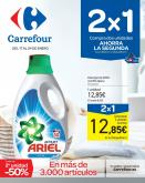 Folleto actual Carrefour - 17.1.2019 - 24.1.2019 - Ventas - detergente, ariel.