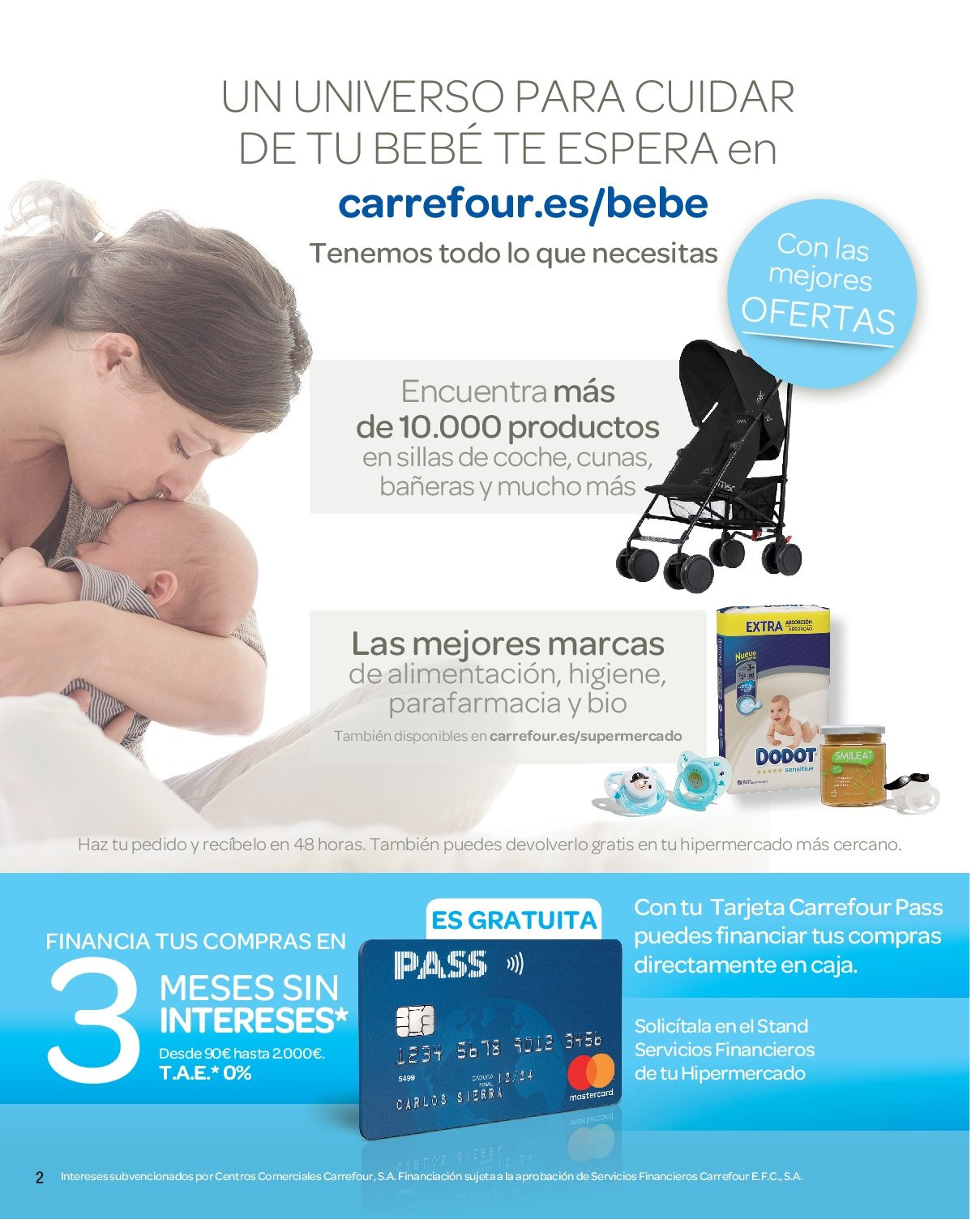 Folleto actual Carrefour - 25.1.2019 - 24.2.2019 - Ventas - bebé 2e2193a465dd