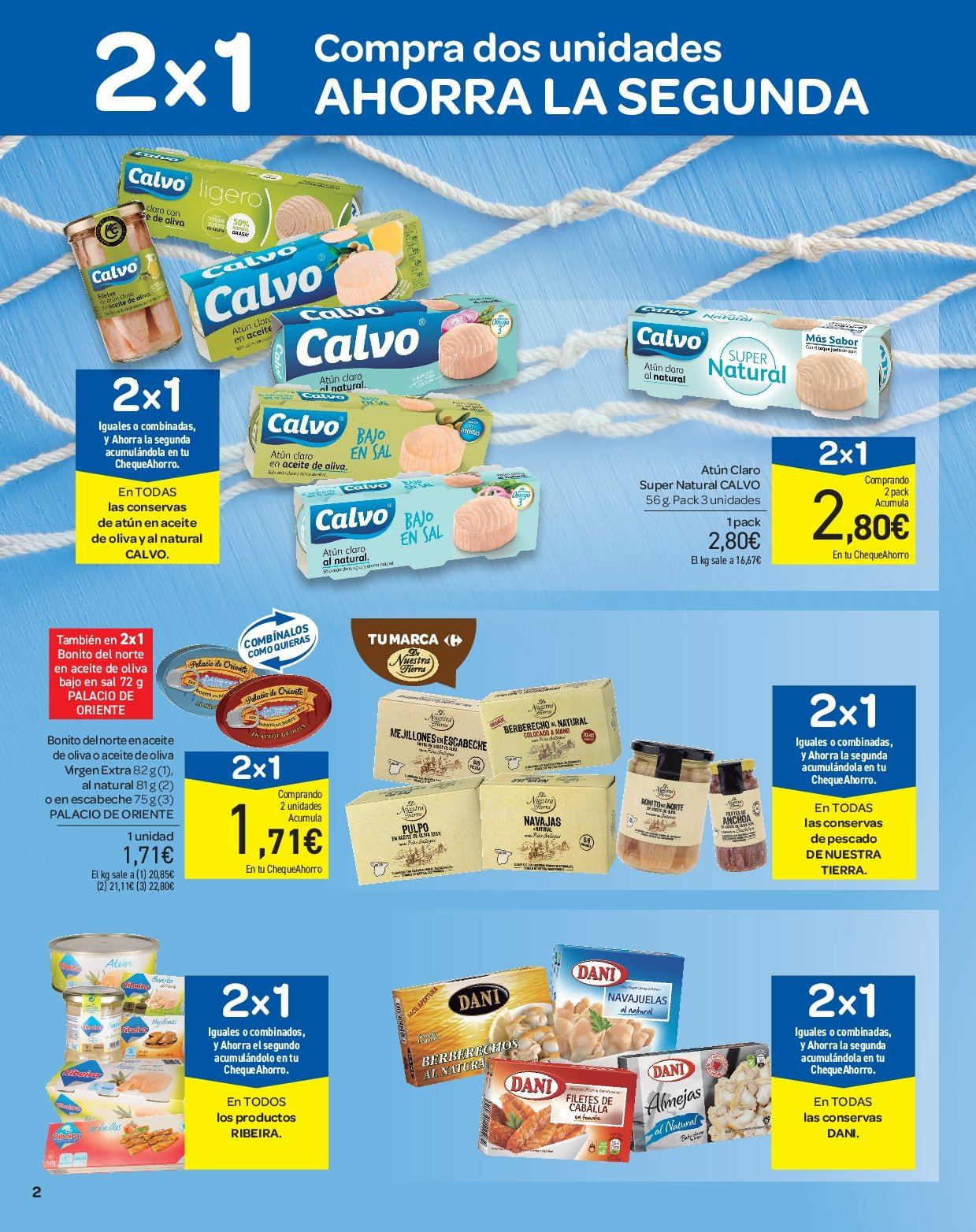 Folleto vigente Carrefour - 28.3.2019 - 9.4.2019. Página 2.
