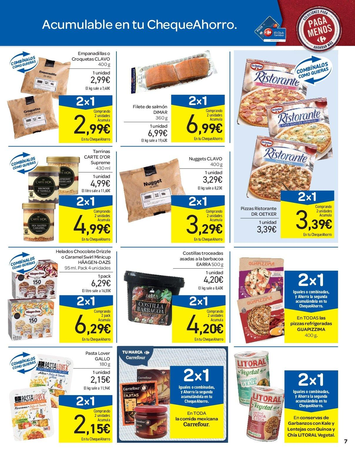 Folleto vigente Carrefour - 3.4.2019 - 9.4.2019. Página 7.